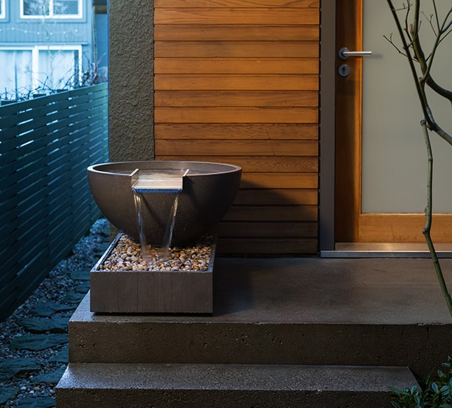Scubber Water Bowl with Concrete Basin (Self Circulating)